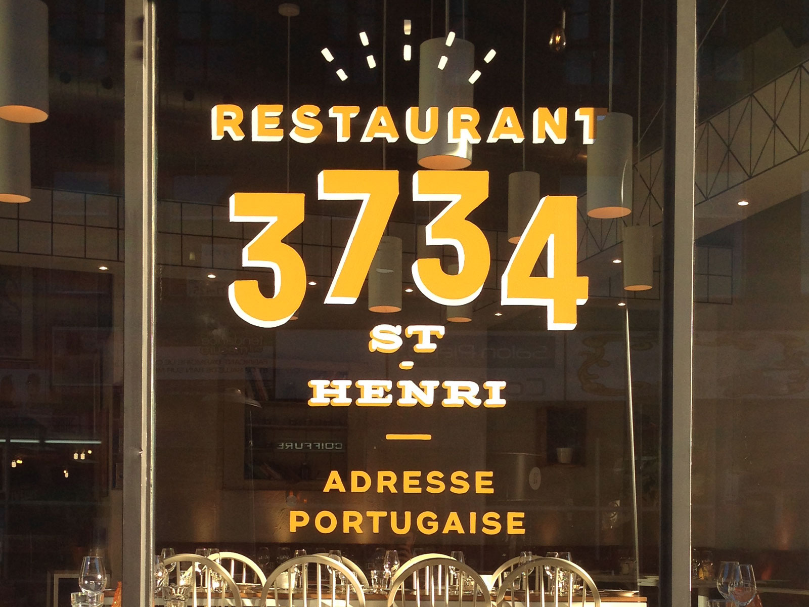 Restaurant 3734 window